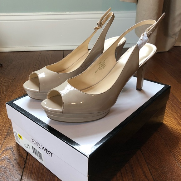 91398f511e9 Nine West able mid heel platform pumps new in box
